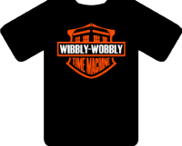 WIBBLY WOBBLY TIME MACHINE TEE - INSPIRED BY JODIE WHITTAKER MATT SMITH DAVID TENNANT DR.WHO